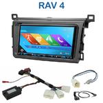 Autoradio 2-DIN GPS NX302E, NX405E, NX505E ou NX706E Toyota RAV4 depuis 2013