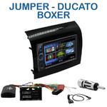 Autoradio 2-DIN Clarion Fiat Ducato, Citroën Jumper et Peugeot Boxer  depuis 05/2014 - VX404E