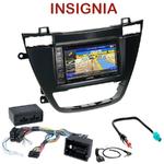 Pack autoradio GPS Opel Insignia depuis 11/2008 - INE-W990HDMI, INE-W710D, INE-W987D ou ILX-702D au choix