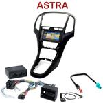 Pack autoradio GPS Opel Astra J depuis 2009 - INE-W990BT, INE-W997D ou ILX-700 au choix