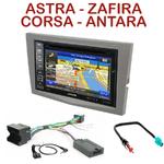 Pack autoradio GPS Opel Astra, Corsa, Zafira et Antara - INE-W990BT, INE-W997D ou ILX-700 au choix