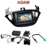 Pack autoradio GPS Opel Adam depuis 2013 - INE-W990BT, INE-W997D ou ILX-700 au choix