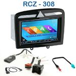 Autoradio 2-DIN GPS NX302E, NX405E, NX505E ou NX706E Peugeot 308, 308CC, 308SW & RCZ