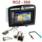 Pack autoradio GPS Peugeot 308 de 09/2007 à 2013 et 308 CC depuis 03/2009 & Peugeot RCZ - INE-W990BT, INE-W997D ou ILX-700 au choix