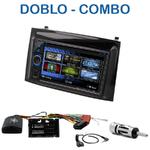 Autoradio 2-DIN Clarion Fiat Doblo et Opel Combo depuis 2015 - VX404E