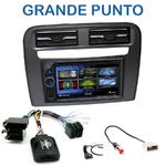 Autoradio 2-DIN Clarion Fiat Grande Punto depuis 2005 - VX404E