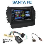 Autoradio 2-DIN Clarion Hyundai Santa Fe depuis 2012 - VX404E