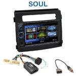 Autoradio 2-DIN Clarion Kia Soul de 2012 à 2014 - VX404E