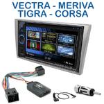 Autoradio 2-DIN Clarion Opel Agila, Combo, Corsa, Meriva, Omega, Signum, Tigra Twin Top, Vectra & Vivaro - VX404E