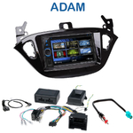Autoradio 2-DIN Clarion Opel Adam depuis 2013 - VX404E