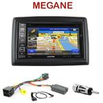 Pack autoradio GPS Renault Megane 2 de 2002 à 2009 - INE-W990HDMI, INE-W710D, INE-W987D ou ILX-702D au choix