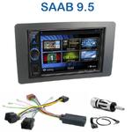 Autoradio 2-DIN Clarion Saab 9.5 depuis 2005 - VX404E