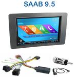 Autoradio 2-DIN GPS NX302E, NX405E, NX505E ou NX706E Saab 9.5 depuis 2005