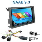Autoradio 2-DIN GPS NX302E, NX405E, NX505E ou NX706E Saab 9.3 depuis 2006