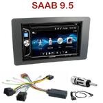 Autoradio 2-DIN Alpine Saab 9.5 depuis 2005 - CDE-W296BT, IVE-W560BT OU IVE-W585BT AU CHOIX