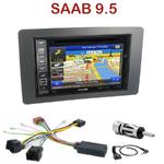 Pack autoradio GPS Saab 9.5 depuis 2005 - INE-W990BT, INE-W997D ou ILX-700 au choix