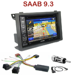 Pack autoradio GPS Saab 9.3 depuis 2006 - INE-W990BT, INE-W997D ou ILX-700 au choix