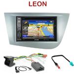 Pack autoradio GPS Seat Leon de 2005 à 2010 - INE-W990HDMI, INE-W710D, INE-W987D ou ILX-702D au choix