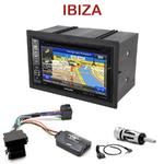 Autoradio GPS Seat Ibiza de 2003 à 2008 - INE-W990HDMI, INE-W710D, INE-W987D ou ILX-702D au choix