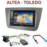 Pack autoradio GPS Seat Altea XL et Toledo - INE-W990BT, INE-W997D ou ILX-700 au choix