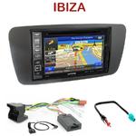 Pack autoradio GPS Seat Ibiza depuis 06/2008 - INE-W990HDMI, INE-W710D, INE-W987D ou ILX-702D au choix