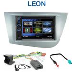 Autoradio 2-DIN Clarion Seat Leon de 09/2005 à 2010 - CDE-W233R, CDE-W235BT, IVE-W585BT ou ICS-X8 au choix