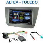 Autoradio 2-DIN Clarion Seat Altea, Altea XL & Toledo - VX404E