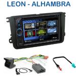 Autoradio 2-DIN Clarion Seat Leon de 3/2009 à 10/2012 & Alhambra depuis 10/2010 - VX404E