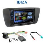 Autoradio 2-DIN Clarion Seat Ibiza depuis 06/2008 - VX404E
