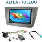 Autoradio 2-DIN GPS NX302E, NX405E, NX505E ou NX706E Seat Toledo, Altea & Altea XL depuis 2004