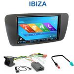 Autoradio 2-DIN GPS NX302E, NX405E, NX505E ou NX706E Seat Ibiza depuis 2008