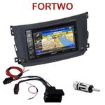 Pack autoradio GPS Smart ForTwo depuis 09/2010  - INE-W990HDMI, INE-W710D, INE-W987D ou ILX-702D au choix