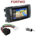 Pack autoradio GPS Smart ForTwo de 2007 à 08/2010 - INE-W990HDMI, INE-W710D, INE-W987D ou ILX-702D au choix