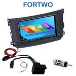 Autoradio 2-DIN GPS NX302E, NX405E, NX505E ou NX706E Smart ForTwo depuis 09/2010
