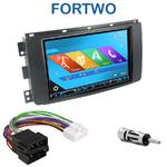 Autoradio 2-DIN GPS NX302E, NX405E, NX505E ou NX706E Smart ForTwo de 2007 à 08/2010