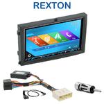 Autoradio 2-DIN GPS NX302E, NX405E, NX505E ou NX706E Ssangyong Rexton depuis 2006