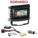 Pack autoradio GPS Ssangyong Korando de 2010 à 2013 - INE-W990HDMI, INE-W710D, INE-W987D ou ILX-702D au choix