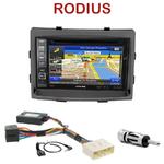 Pack autoradio GPS Ssangyong Rodius depuis 2013 - INE-W990BT, INE-W997D ou ILX-700 au choix