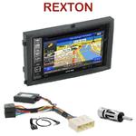 Pack autoradio GPS Ssangyong Rexton II de 2006 à 2013 - INE-W990HDMI, INE-W710D, INE-W987D ou ILX-702D au choix