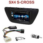 Autoradio 2-DIN Alpine Suzuki SX4 S-Cross depuis 2013 - CDE-W296BT, IVE-W560BT OU IVE-W585BT AU CHOIX