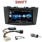 Autoradio 2-DIN Alpine Suzuki Swift depuis 09/2010 - CDE-W296BT, IVE-W560BT OU IVE-W585BT AU CHOIX