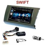 Autoradio 2-DIN Alpine Suzuki Swift de 2005 à 2010 - CDE-W296BT, IVE-W560BT OU IVE-W585BT AU CHOIX