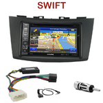 Pack autoradio GPS Suzuki Swift depuis 09/2010 - INE-W990BT, INE-W997D ou ILX-700 au choix