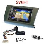 Pack autoradio GPS Suzuki Swift de 2005 à 2010 - INE-W990BT, INE-W997D ou ILX-700 au choix