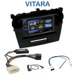 Autoradio 2-DIN Clarion Suzuki Vitara depuis 2015 - VX404E