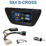 Autoradio 2-DIN Clarion Suzuki SX4 S-Cross depuis 2013 - VX404E