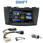 Autoradio 2-DIN Clarion Suzuki Swift depuis 09/2010 - VX404E