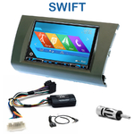 Autoradio 2-DIN GPS NX302E, NX405E, NX505E ou NX706E Suzuki Swift de 2005 à 2011