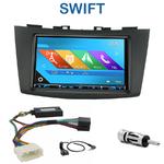 Autoradio 2-DIN GPS NX302E, NX405E, NX505E ou NX706E Suzuki Swift depuis 2011
