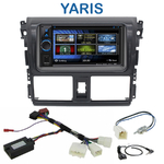 Autoradio 2-DIN Clarion Toyota Yaris depuis 2013 - VX404E